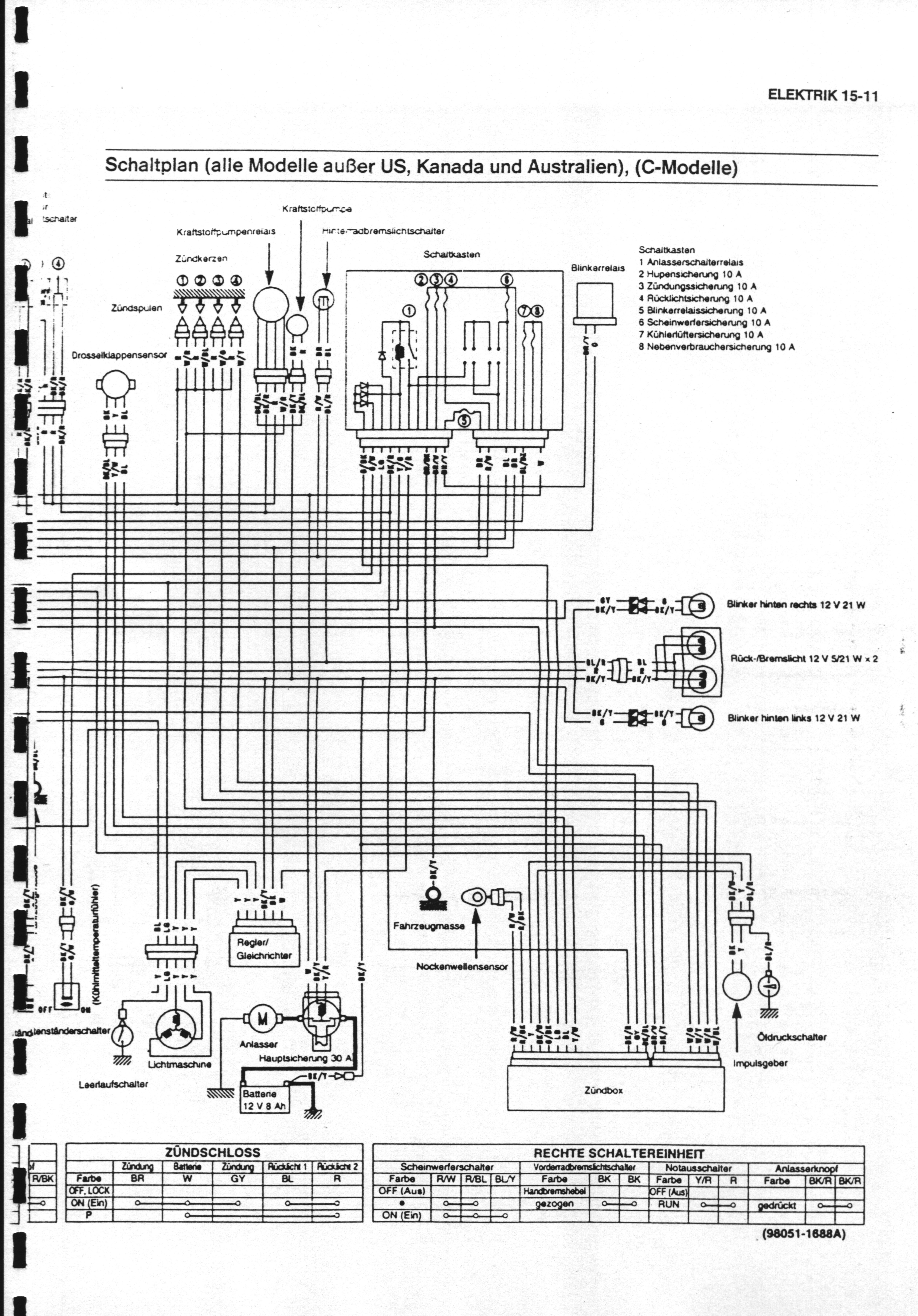 Ninja\'s oder Watt Ihr Volt » Schaltplan Zx9R